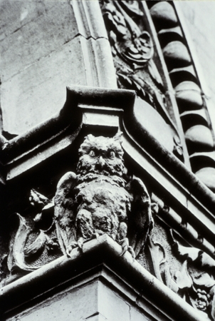 Owl Sculpture Exterior